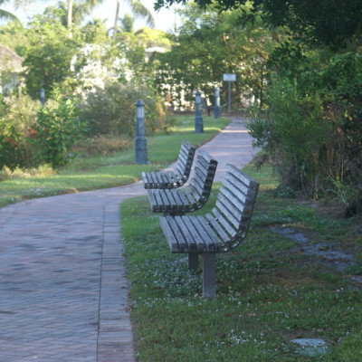 The Ship Store Benches in the Park Goodland Boating Park Goodland Florida