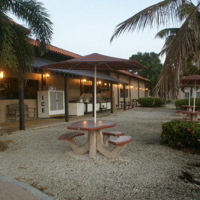 The Ship Store Picnic Area Port of the Islands Florida