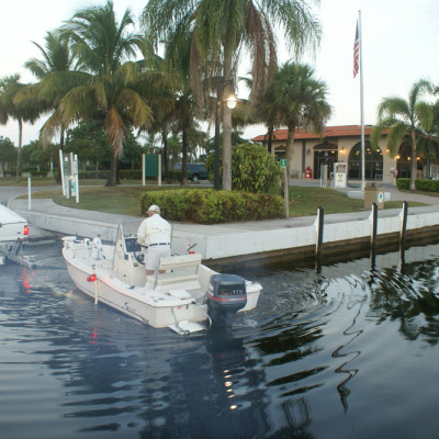 The Ship Store Boat Ramp Port of the Islands Florida