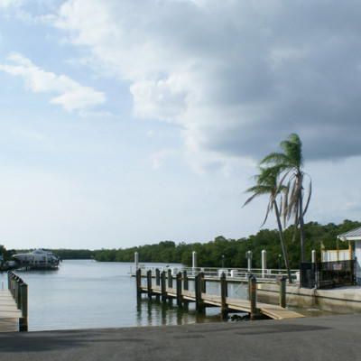 The Ship Store Cocohatchee River Park Florida Boat Ramp