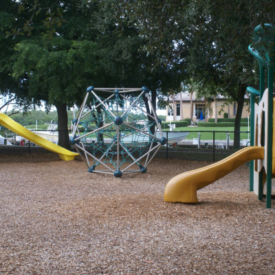 Playground in Cocohatchee River Park near The Ship Store
