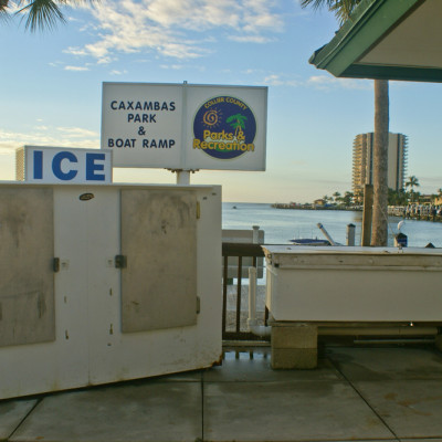 The Ship Store Ice Fresh Shrimp Caxambas Park & Boat Ramp Marco Island Florida